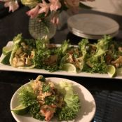 Spicy Southwest-Style Louis Kemp Crab Delights Lettuce Wraps