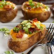 Loaded Breakfast Baked Potato