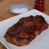 Asian broiled pork steaks