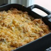 HASH BROWN CASSEROLE WITH SAUSAGE AND CHIVES