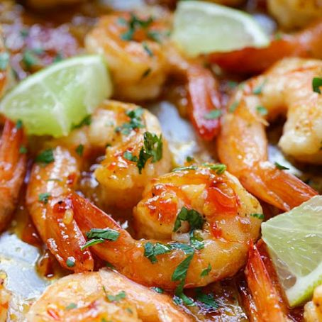 Sweet Chili-Garlic Shrimp [asian]