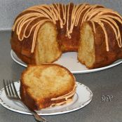 Butterscotch Banana Bundt Cake