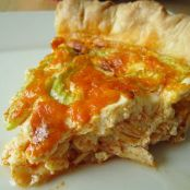 Buffalo Chicken Quiche