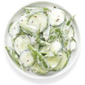 Cucumber & Snap Pea Salad