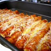 Luby's Cheese Enchiladas With Chili Sauce