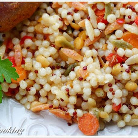 Trader Joe S Israeli Couscous Healthy Version Recipe 4 3 5