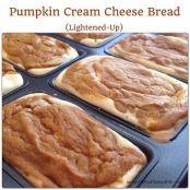 Pumpkin Cream Cheese Bread (lightened up)