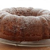 Applesauce Walnut Cake w/Cake Mix