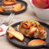 Apple Cider-Maple Pork Chops with Caramelized Onions