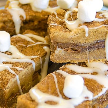 Snickerdoodle Smores Bars