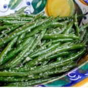 Green Beans with Ginger & Garlic
