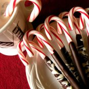 Chocolate Candy Cane Stir Sticks