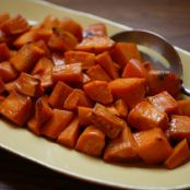 Agave and Whisky-Glazed Sweet Potatoes