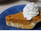 Pumpkin and Cheesecake Pie