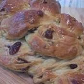 Cranberry-Walnut Braid