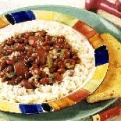 Ground Turkey Red Beans and Rice