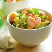 Mango Avocado Shrimp Salad