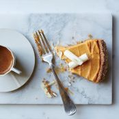 Pumpkin & White Chocolate Mousse Pie