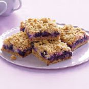 BLUEBERRY OATMEAL STREUSEL BARS