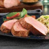 Roasted Pork Tenderloin with Asian Dry Rub