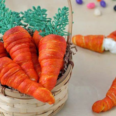 Crescent Carrot Appetizers