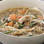 Wild Rice-and-Mushroom Soup