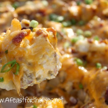 Fully Loaded Twice Baked Potato Casserole Recipe 4 3 5