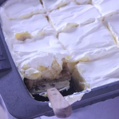 Banana Cream Pie Bars