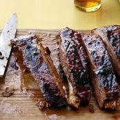 Chili-Glazed Pork Ribs