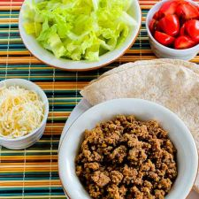 Slow Cooker Browns-in-the-Crockpot Spicy Ground Beef for Tacos, Burritos, or Taco Salad