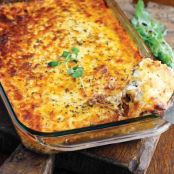 Meat Lasagna (No Noodles)