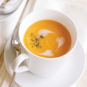 Winter Vegetable Soup with Coconut Milk & Pear