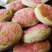 Rose- Cinnamon Scones with Lemon Curd Scented with Rose Water