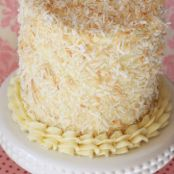 Coconut Layer Cake For Two