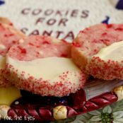 White Chocolate Cherry Shortbread