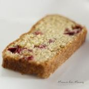 Cranberry Bread with Cointreau Butter