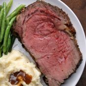 Prime Rib Roast /Garlic Butter