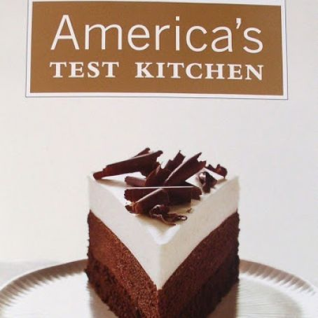 Triple Layer Chocolate Mousse Cake America S Test Kitchen