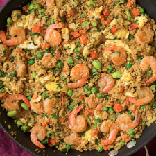 Quinoa Shrimp Fried Rice