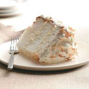 Orange-Coconut Angel Food Cake