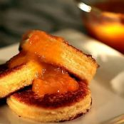 Mascarpone Stuffed French Toast with Orange Compote