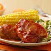 Slow-Cooker Saucy Orange-Barbecued Chicken