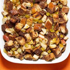 Marble Rye & Apple Stuffing