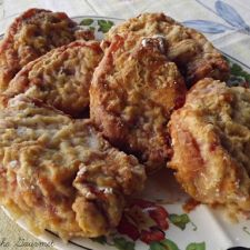 Oven Fried Boneless Pork Chops