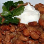 Pinto Beans Cowgirl Style