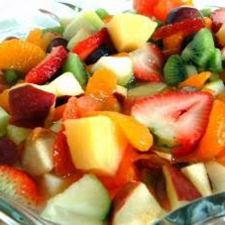 Spiked Fruit Salad