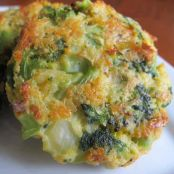 Baked Cheese & Broccoli Bites