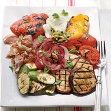 Healthy Fire-Seared Antipasto Platter