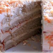 Coconut Layer Cake with Swiss Buttercream