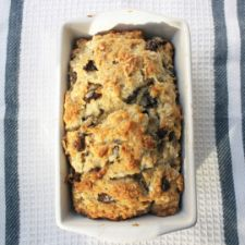 Chunky Monkey Best Vegan Chocolate Chip Banana Bread